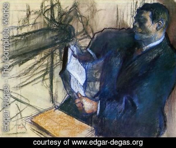 Edgar Degas - Pagans and Degas's Father