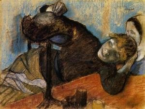 Edgar Degas - The Milliner