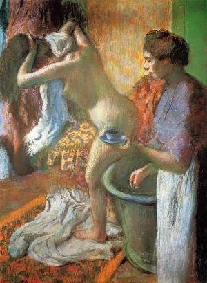 Edgar Degas - The Cup of Tea