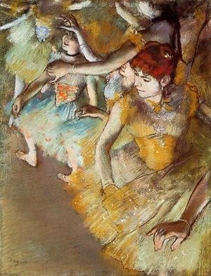 Edgar Degas - Ballet Dancers on the Stage