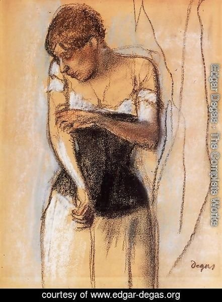 Edgar Degas - Woman Touching Her Arm