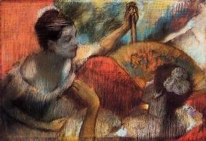 Edgar Degas - Dancers in a Box