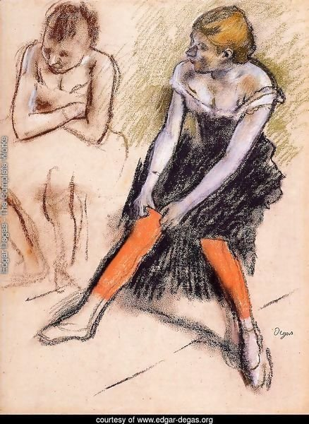 Dancer with Red Stockings