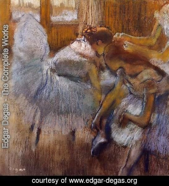 Edgar Degas - Dancers Relaxing