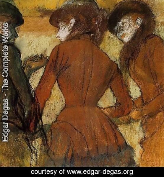 Edgar Degas - Three Women at the Races