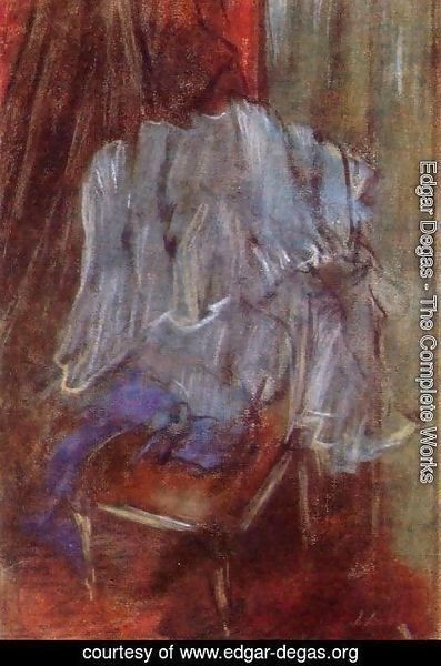 Edgar Degas - Vestment on a Chair