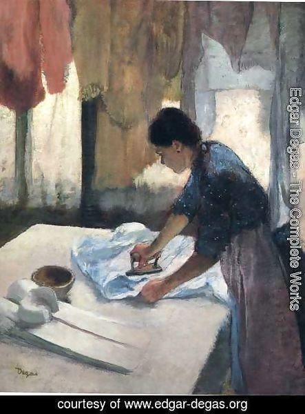 Edgar Degas - Woman Ironing V