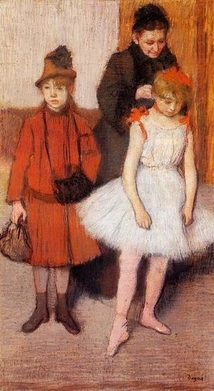 Edgar Degas - The Mante Family I
