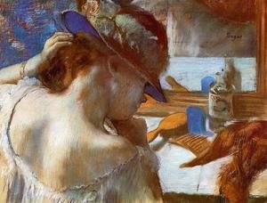 Edgar Degas - Mirror
