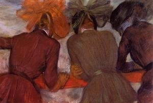 Edgar Degas - Women Leaning on a Railing