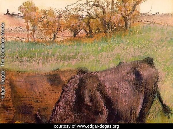 Landscape: Cows in the Foreground