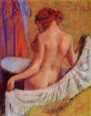 Edgar Degas - After the Bath VIII