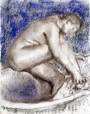 Edgar Degas - The Bath I
