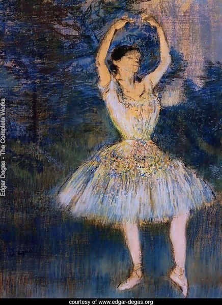 Dancer with Raised Arms