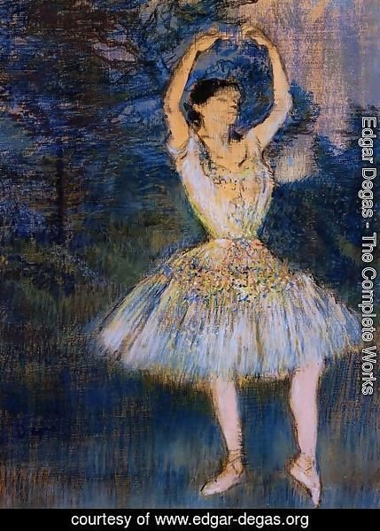 Edgar Degas - Dancer with Raised Arms