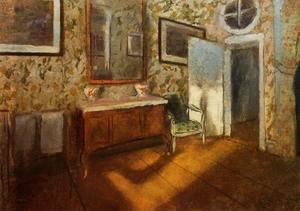 Edgar Degas - Interior at Menil-Hubert