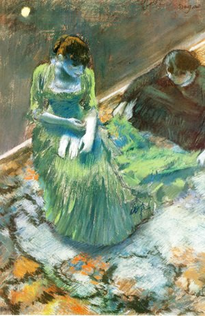 Edgar Degas - Before the Curtain Call