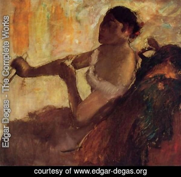 Edgar Degas - Rose Caron