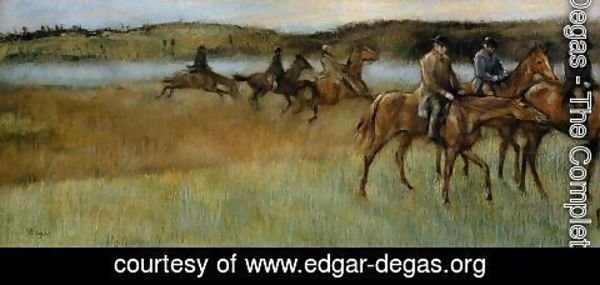 Edgar Degas - The Trainers
