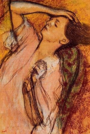 Edgar Degas - Combing the Hair I