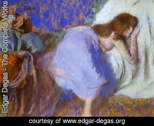 Edgar Degas - Rest