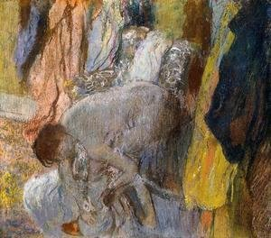 Edgar Degas - Woman Washing Her Feet