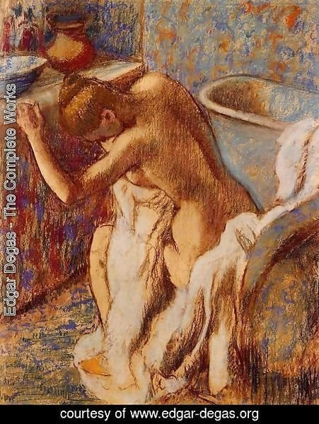 Edgar Degas - Woman Drying Herself V
