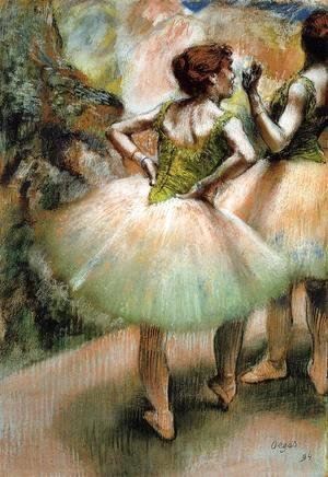 Dancers, Pink and Green I