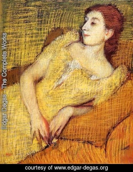 Edgar Degas - Seated Woman