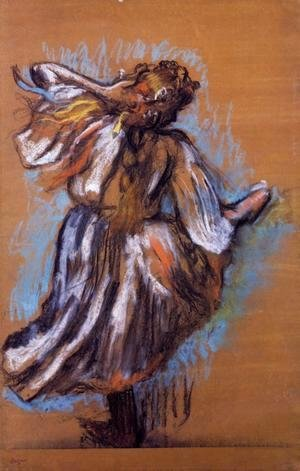 Edgar Degas - Russian Dancer