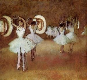 Edgar Degas - Dance Rehearsal in theStudio of the Opera