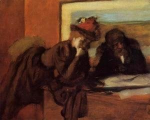 Edgar Degas - Conversation