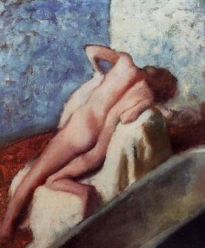 Edgar Degas - After the Bath X