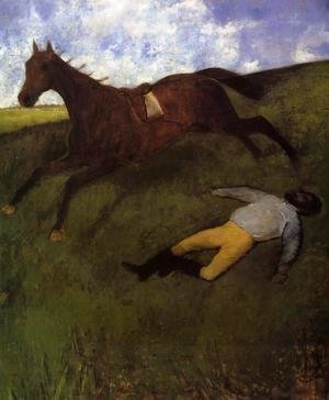 Edgar Degas - The Fallen Jockey
