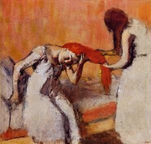 Edgar Degas - Combing the Hair II