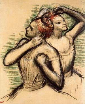 Edgar Degas - Two Dancers IV