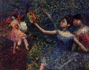 Edgar Degas - Dancer and Tambourine