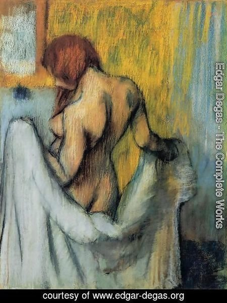 Edgar Degas - Woman with a Towel