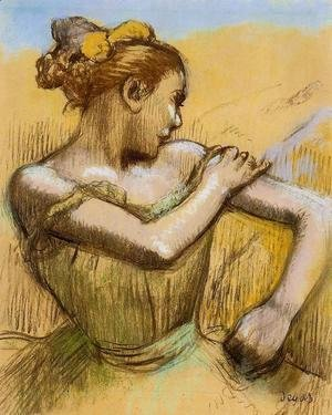 Edgar Degas - Torso of a Dancer