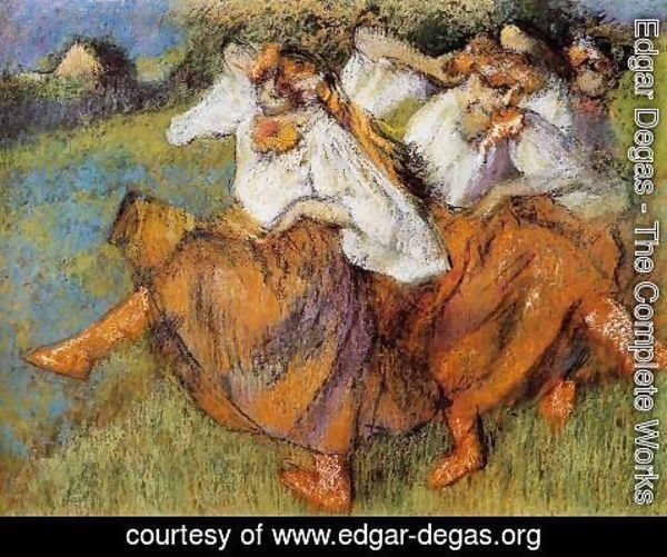 Edgar Degas - Russian Dancers