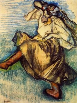 Edgar Degas - Russian Dancer I