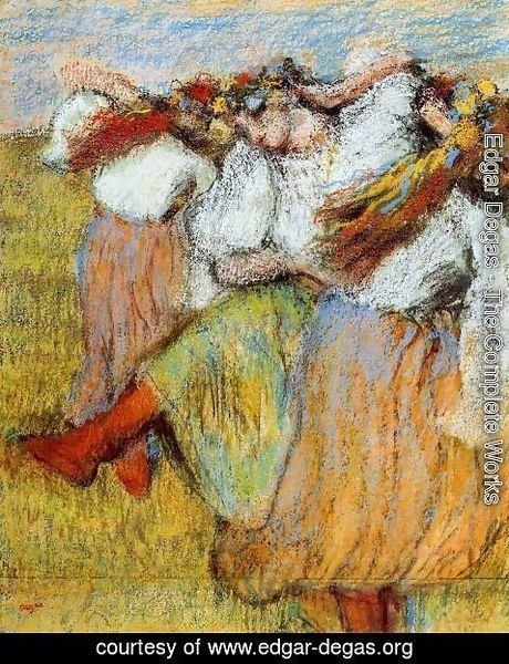 Edgar Degas - Russian Dancers IV