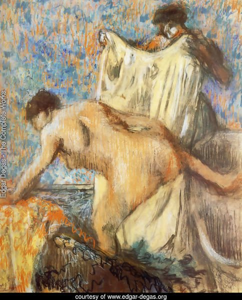 Woman Leaving Her Bath II