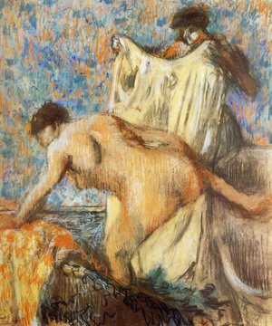 Edgar Degas - Woman Leaving Her Bath II