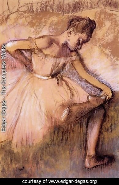 Edgar Degas - Pink Dancer II