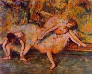 Two Dancers on a Bench