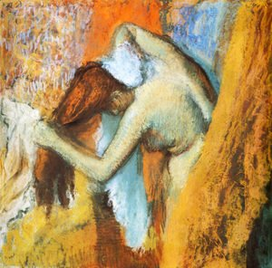 Edgar Degas - Woman at Her Toilette III
