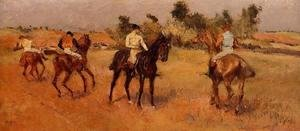 Edgar Degas - Four Jockeys