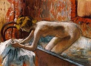 Edgar Degas - Woman Leaving Her Bath III