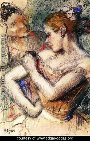 Edgar Degas - Dancer IV